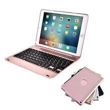 Caso Da Tampa Do Teclado sem fio bluetooth Para O iPad 9.7 2017 2018 6th geração 5th iPad Ar 1 2 ipad pro 9.7 mini 1 2 3 4 5
