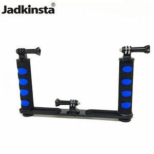 Image 1 - Ручной Стабилизатор для камеры Jadkinsta, стабилизатор Steadicam для смартфонов Gopro, DSLR, поднос, крепление для камеры Canon, Nikon, Sony