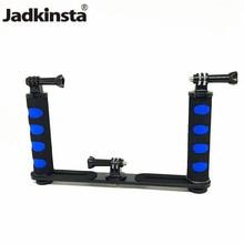 Jadkinsta handheld rig câmera estabilizador handheld steadicam para gopro smartphone dslr bandeja de montagem para canon nikon para câmera sony