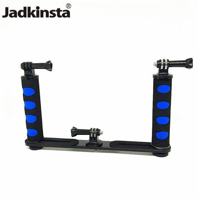 Jadkinsta stabilisateur portatif de caméra de plate forme pour Smartphone Gopro support de plateau DSLR pour Canon Nikon pour appareil photo Sony