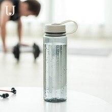 Youpin Jordan & Judy 370ML ręcznie prosty ładny kubek przenośny odporność butelki sportowe antypoślizgowa izolacja uchwyt filiżanka do herbaty, kawy