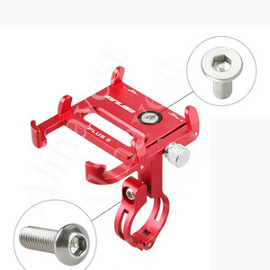 Image 4 - Phone Holder For Xiaomi Mijia M365 Electric Scooter For Qicycle EF1 M365 m187 Pro For Speedway For Jackhot Adjustable Anti drop