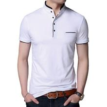 Kosmo masa fino ajuste casual polo camisa masculina de algodão gola de manga curta dos homens polo camisas de verão superior masculino polo para homem mp0006