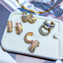 Vintage Irregular Freshwater Pearl Dangle Earrings For Women Brincos Geometric Drop Earring DIY Wedding Party Jewelry Gift
