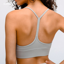 2020 Sexy Y Back Plus Size Sports Bra Padded Running Fitness Clothing Women Yoga Gym Push Up Tops Sport Bras Tank Mesh Crop Top sport bra women push up fitness sexy yoga bra tops female gym running training bra tank tops plus size sports vest