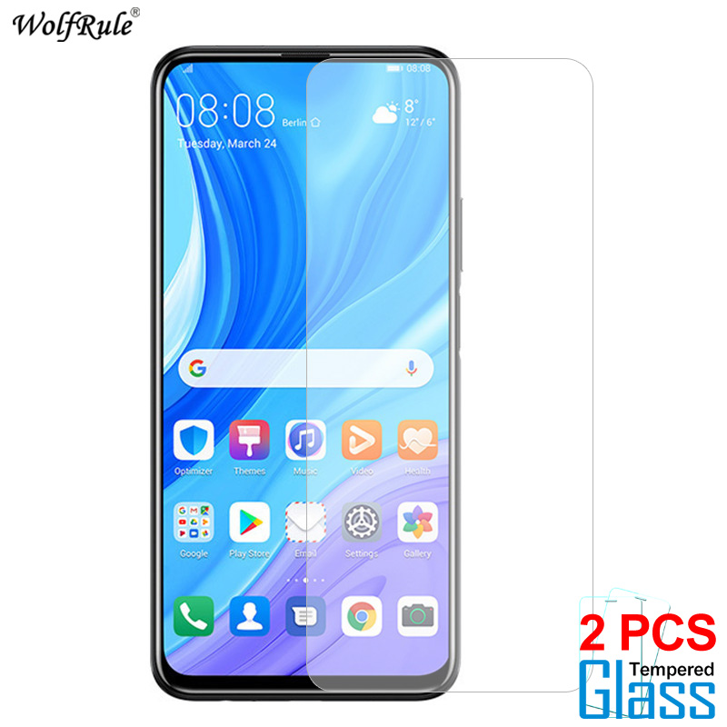 2Pcs Glass For Huawei Y9S Screen Protector Tempered Glass For Huawei Y9S Glass Protective Phone Film For Huawei Y9S 6.59''