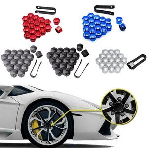 17mm/19mm/21mm Car Tyre Wheel Hub Covers Protection Caps Nuts Screw FOR McLaren 650S 540C P1 12C MP4-12C X-1 Senna 720S(China)