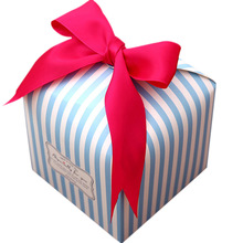 цена Original Fresh Butter Bow Gift Box Packing Box Premium Gift Box Sugar Box Carton Wedding Birthday Party Gift Boxes Bags онлайн в 2017 году