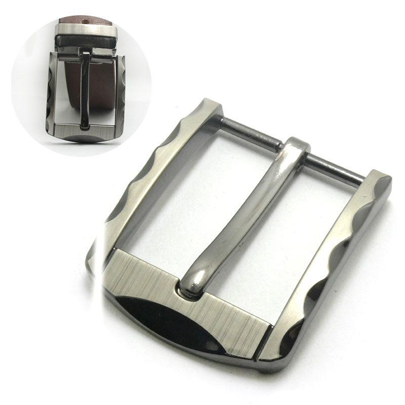 1pcs 40mm Metal Tri Glide Belt Buckle Middle Center Bar Men's Single Pin Buckle Leather Belt Bridle Halter Harness Adjustment