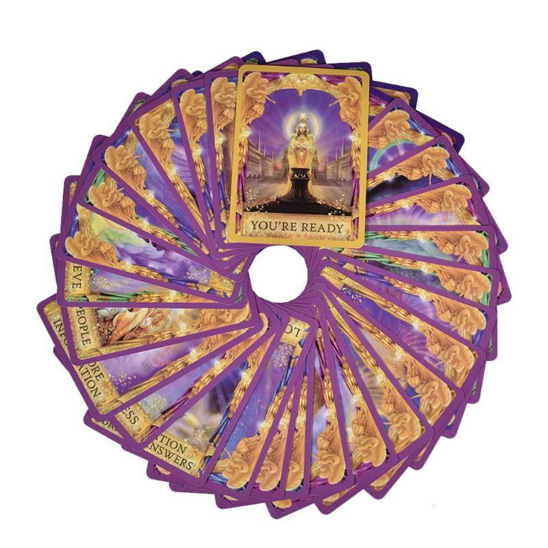 Ангельские ответы на тариоты 44 дюйма, колода карт особая, английский, семейный друг, вечевечерние НКА, доска E56D