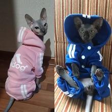Милый свитер с капюшоном для кошек; зимняя теплая одежда для домашних животных; Одежда для кошек; одежда со сфинксом каттеном; Ropa Para gatos Kedi Giyim; товары для домашних животных