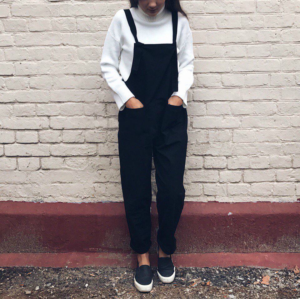 Overalls For Women Dungarees Oversize Rompers Women Jumpsuit Strap Solid Tracksuit Harem Trousers Playsuit Plus Size 3XL 4XL 5XL