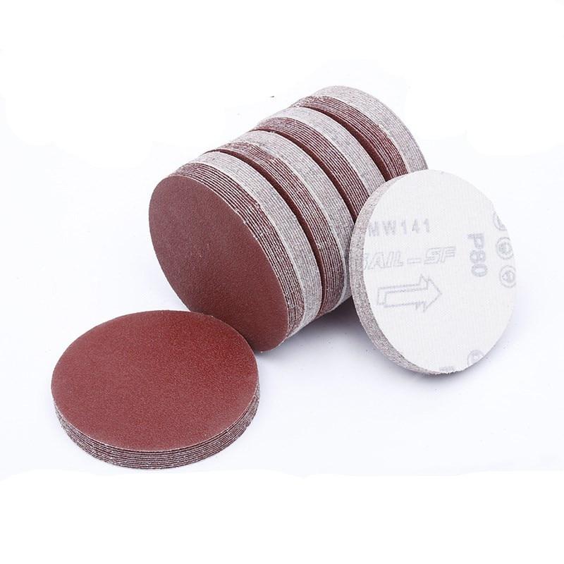 20pcs 6 Inch 150mm Round Sandpaper Disk Sand Sheets Grit 40-2000 Hook Loop Sanding Disc For Sander Grits