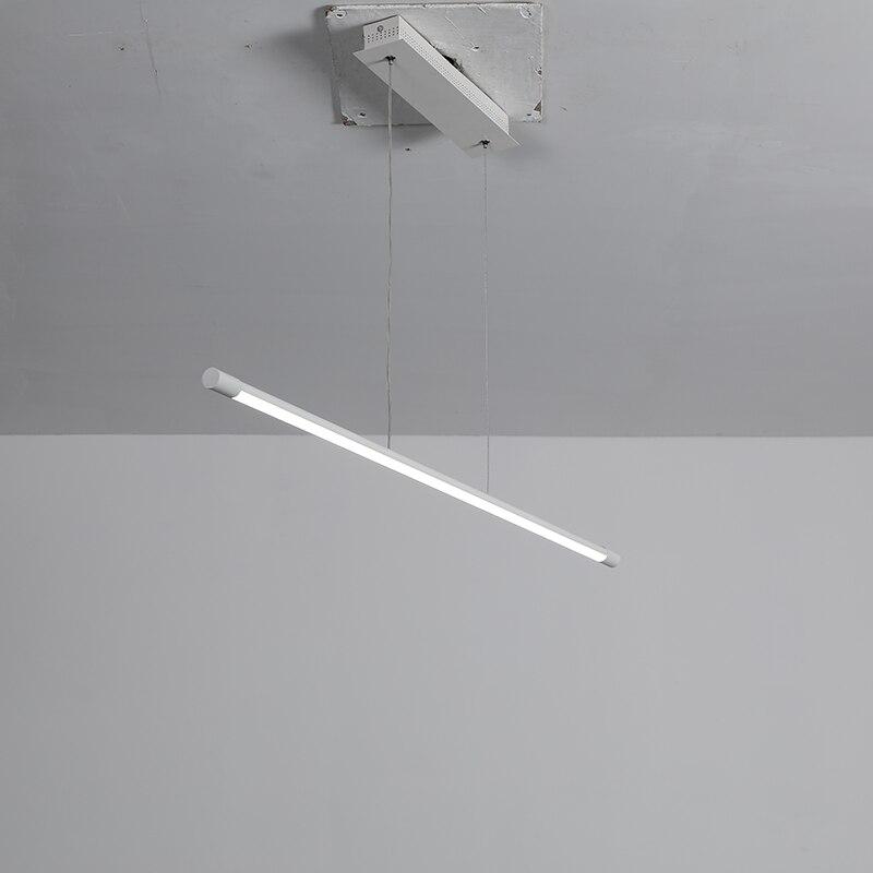 Moderno led pingente luzes para sala de jantar sala estar suspensão luminária cabo pendurado lâmpada pingente de alumínio para cozinha escritório - 3