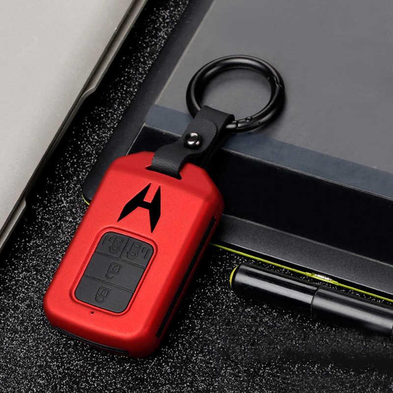 ABS + funda de silicona para llave del coche para Honda CRV HR-V HRV piloto acuerdo odisea 2013-2017, 2018, 2019 inteligente llave Fob