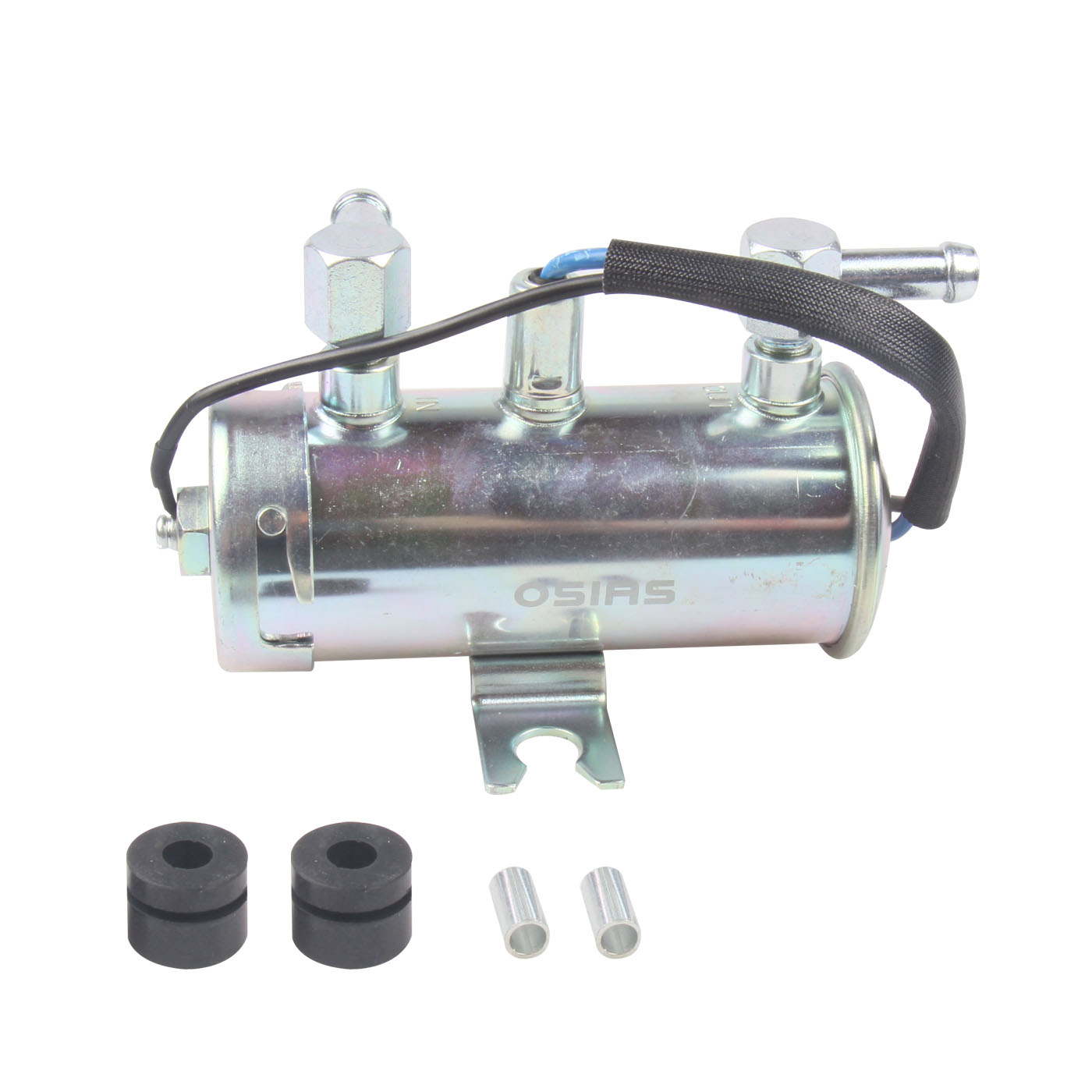 OSIAS 24V ELECTRIC UNIVERSAL PETROL DIESEL FUEL PUMP FACET SILVER STYLE TRACTOR BOAT