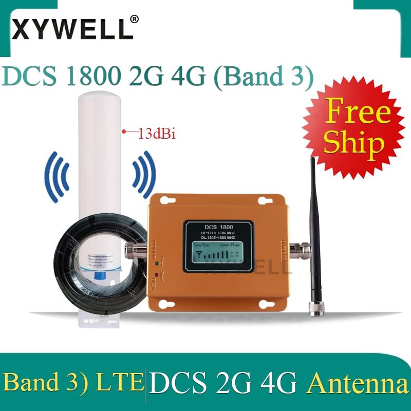 усилитель сотовой связи 1800 4G Signal Booster 1800 MHz Gsm Mobile Signal Booster DCS 1800Mhz 2G Cellphone Cellular GSM Repeater