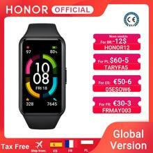 HONOR-pulsera inteligente Band 6 De 1,47 pulgadas, reloj inteligente deportivo resistente al agua con control del ritmo cardíaco, oxígeno en sangre y Bluetooth 5,0, Pantalla AMOLED