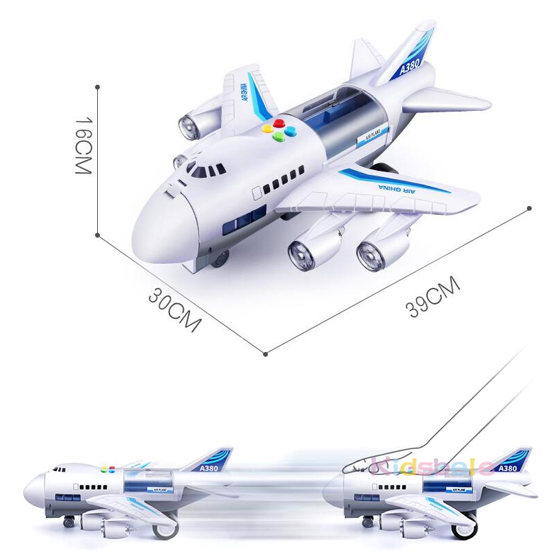 Dječje igračke simulacija trag inercija zrakoplov glazbeni - Dječja i igračka vozila - Foto 2