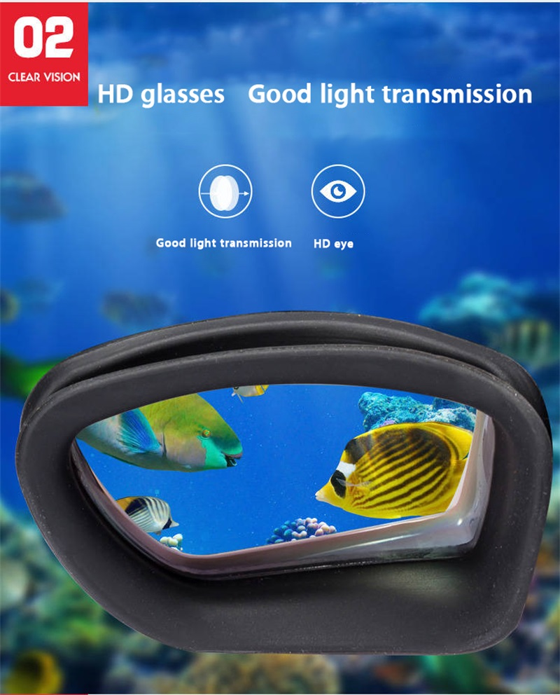 Adult Professional Swimming Goggles with earplugs Swimming Glasses Durable Silicone Swimming Goggles Anti-fog Anti-UV Black/Blue