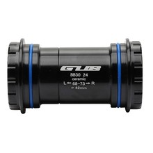 GUB BB30 Bicycle BB Shaft Ceramics Bottom Bracket Threaded Into The Lock Center Press Fit