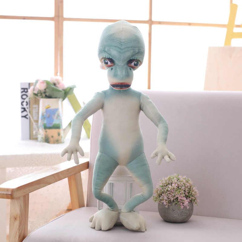 ET الغريبة ألعاب من نسيج مخملي القطن لينة محشوة خارج الأرض غريب محاكاة ساخرة مضحك دمية طفل أطفال فتاة نابض بالحياة هدية فيلم لعبة