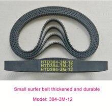 Маленький Серфер 384 3m 12 ремень привода синхронный миниатюрная