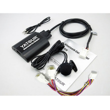 Yatour BTA odbiornik audio Bluetooth do samochodu AUX mp3 interfejsy dla LEXUS RX300 ES300 GS430 GX470 LS460 SC430 z Y Adapter do kabla