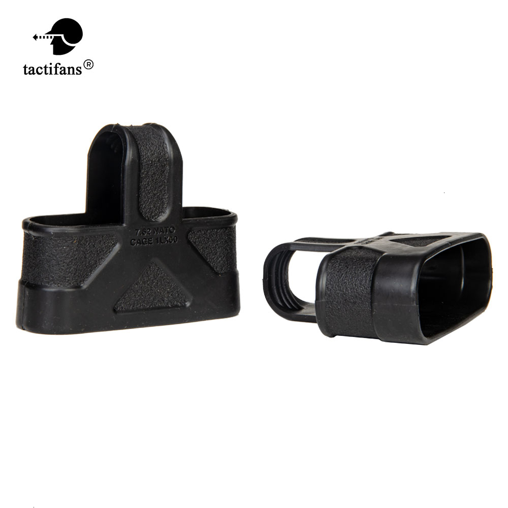 5Pcs Tactical 9mm 5.56 7.62 Rubber Cage Loops Fast Mag Pull For M4 M16 AK Magazine Assist Shooting Hunting Paintball Airsoft