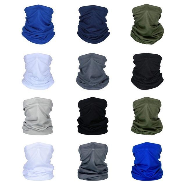 Cycling Neck Kerchief Scarf Outdoor Sports Riding Face Mask Skull Bandanas Halloween Cosplay Scarves Wicking Seamless 1