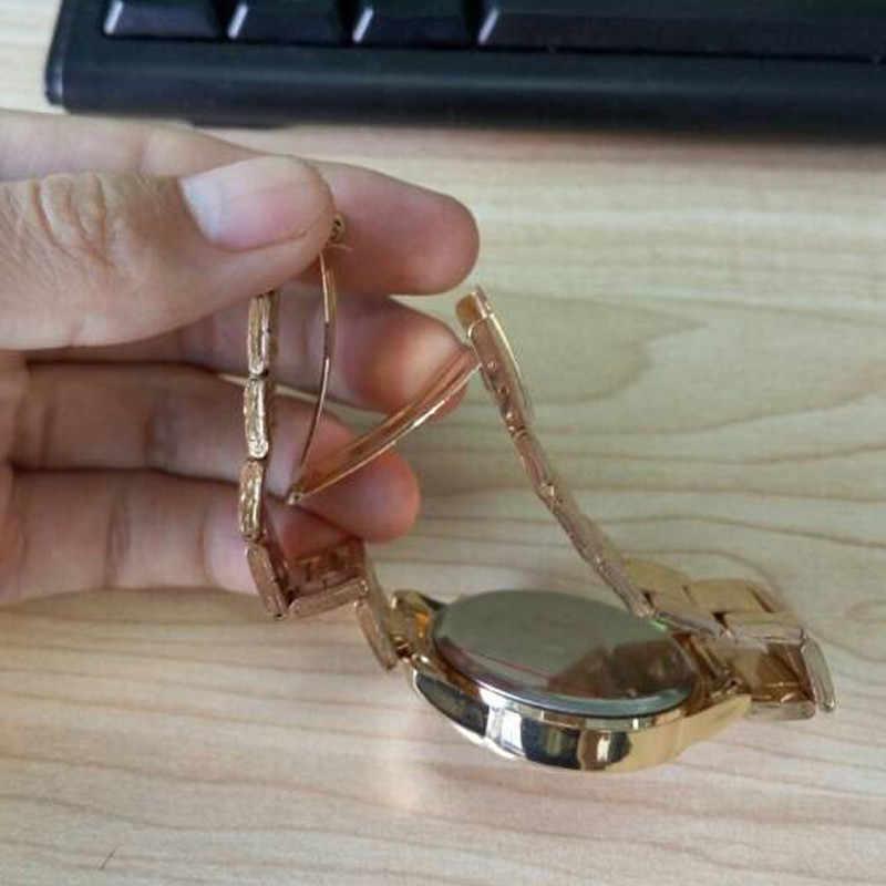 Hot sprzedaży marka geneva złoty i srebrny zegarek kobiety moda damska kryształ sukienka zegarki kwarcowe Relogio Feminino Reloj Mujer