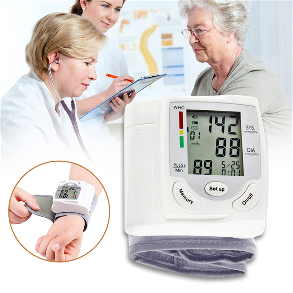 Portable Sphygmomanometer Domestic Blood Pressure Measuring Instrument Health Gift Blood Pressure Sphygmomanometer