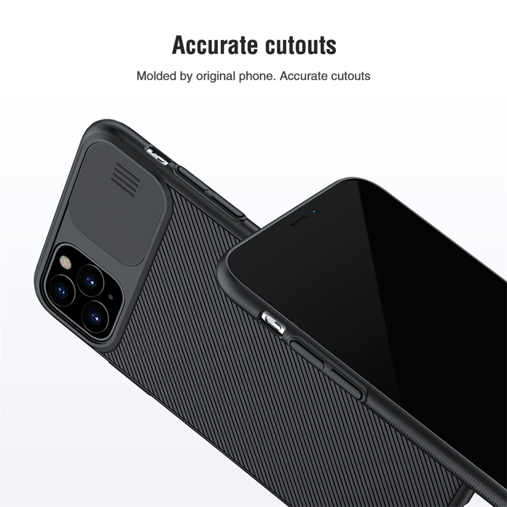 H2eb18271fddb4a098cfda3e351a9ab0aS For iPhone 11 11 Pro Max Case NILLKIN CamShield Case Slide Camera Cover Protect Privacy Classic Back Cover For iPhone11 Pro
