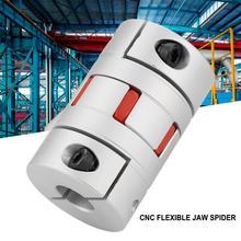 Shaft Coupler Flexible Spider Shaft Coupling OD40mm x L66mm CNC Stepper Motor Coupler Connector cnc motor jaw shaft coupler 3d printer parts 5mm to 8mm aluminium flexible coupling spider 5 8 25mm dropshipping