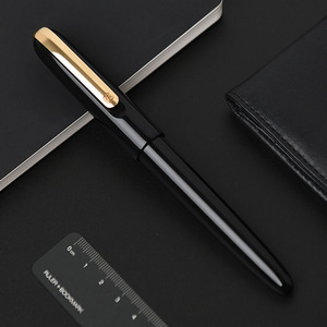 Image 4 - KACO MASTER 14K Fountain Pen with Aluminum Pen Holder and Converter, Fine Point 0.5mm Collection Business Office Gift Set