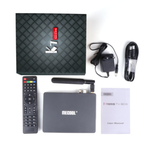 Image 5 - Lettore multimediale astuto di MECOOL K7, Android 9.0 TV Box 4G 64G Amlogic S905X2 2.4G/5G WiFi USB 3.0 TV Box