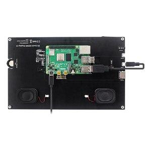 Pantalla capacitiva de 10,1 pulgadas, fácil de instalar, LCD, USB, HDMI, pantalla táctil portátil de alta resolución 1024x600 para Raspberry Pi