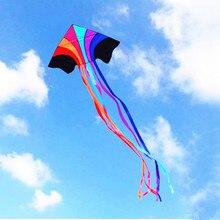 Высокое качество Летающий Радужный воздушный змей нейлоновая ткань Рипстоп Детские воздушные змеи завод китайский воздушный змей торговля Птица орел