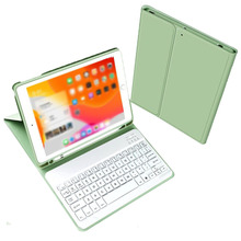 Tragbare Drahtlose Bluetooth Tastatur + PU leder Tastatur Schutzhülle Abdeckung für iPad 10,2 2019 Tablet fall mit Tastatur