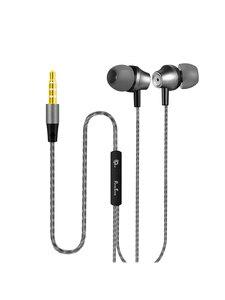 Image 5 - Punnkfunnk Metal Deep Bass Stereo Sport In Ear Hoofdtelefoon W/Mic Volume Control Voor Iphone 5 6 7 8 X Xr