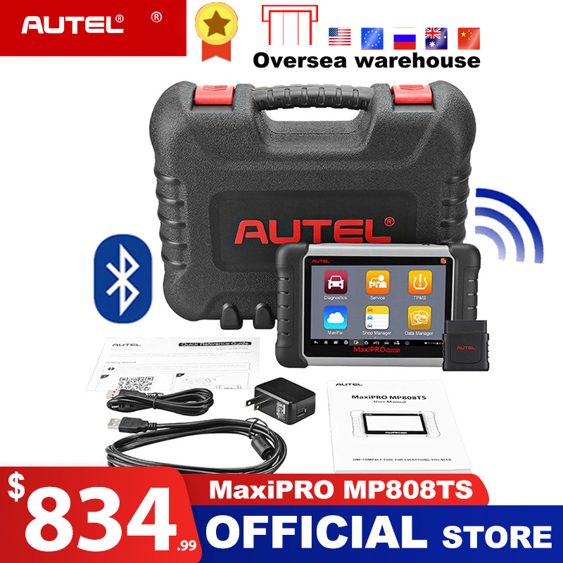 Autel MP808TS Diagnostic Tool Prime of DS808 Better than MS906 MS906TS MS906BT Combine of MS906BT TS601