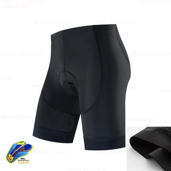 Czarne krótkie spodenki 2020 Upgrade spodenki rowerowe Downhill Mountain MTB szosowe spodenki rowerowe wyściełany żel spodenki rowerowe Licra bermudy Ciclismo tanie i dobre opinie Newest 19D GEL Pad Anti-Pilling Anti-Shrink Anti-Wrinkle Breathable Quick Dry Anti-sweat Sun protection UV protection