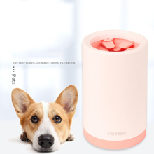 Outdoor portable Dog Paw Cleaner Cup Pet Feet Washer Soft Silicone Cat Foot Wash Tool Small Large Dogs Foot Quick Cleaning Brush