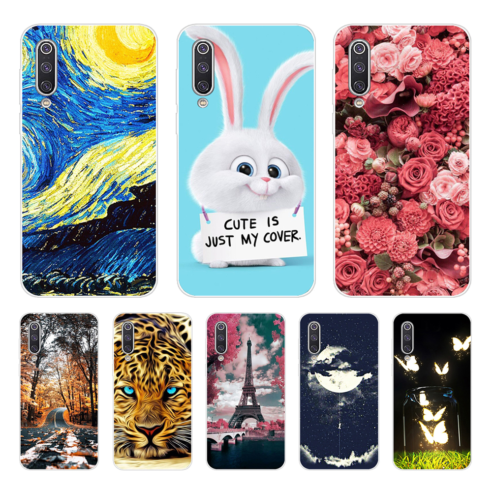 For <font><b>Xiaomi</b></font> <font><b>Mi</b></font> <font><b>A3</b></font> <font><b>Mi</b></font> CC9E Case <font><b>Xiaomi</b></font> <font><b>Mi</b></font> <font><b>A3</b></font> Lite <font><b>Mi</b></font> CC9 case TPU Soft Silicone Bumper Funda back <font><b>Cover</b></font> For <font><b>Xiaomi</b></font> <font><b>Mi</b></font> CC 9 9e case image