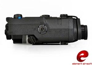 Image 3 - Z TAC 요소 airsoft 무기 탑재 라이트 전술 LA PEQ15 손전등 ex276 bk