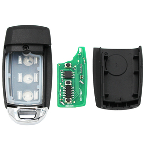 Image 3 - KEYECU 5 PCS/Lot, KEYDIY B Series B28 Universal Remote Control Car Key   3 Button   for KD900 KD900+ URG200 KD X2 Key Programmer