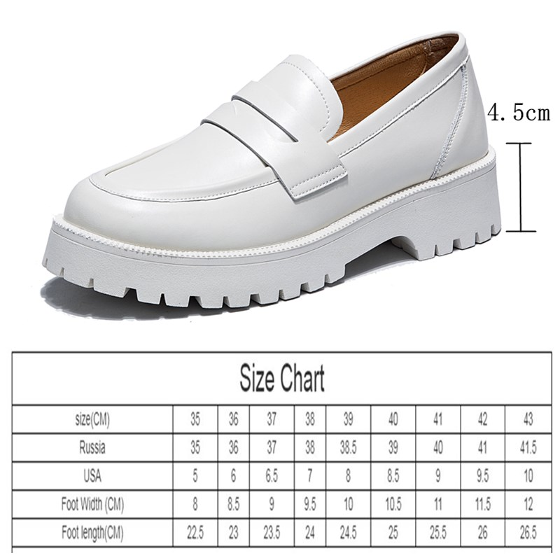 AIYUQI Spring Shoes Female British Style 2021 New Thick soled College Style Casual Loafers Genuine Leather Fashion Shoes Girls
