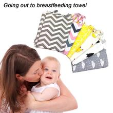 New Breathable Mother Breastfeeding Cover Baby Nursing Cover Mother Outdoor Baby Scarf Feeding Covers Apron Cover Maternity Pads multifunctionl new nursing cover mother breast feeding cotton maternity nursing apron breastfeeding covers muslin