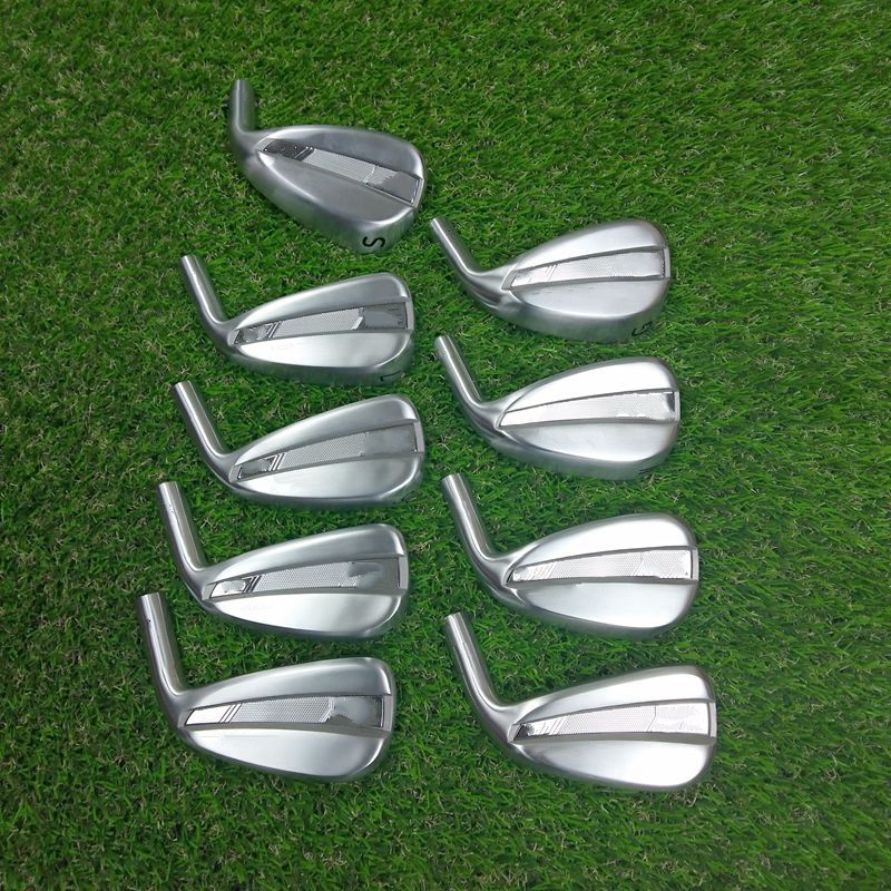Golf Clubs Iron Set 0211 Golf Irons Set 4-9GWS 9Pcs FORGED With Steel/Graphite Shaft HeadCover 1