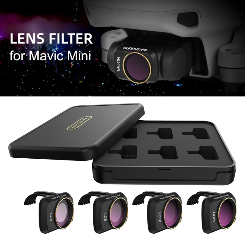 6pcs Multi-layer DJI Mavic Mini Filters UV ND CPL 4 8 16 32 NDPL Set Camera Lens Filter For DJI Mavic Mini Accessories